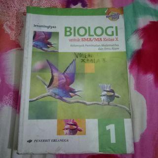 BIOLOGI ERLANGGA KELAS 10