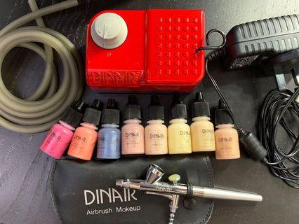 Dinair Airbrush Mini Compressor