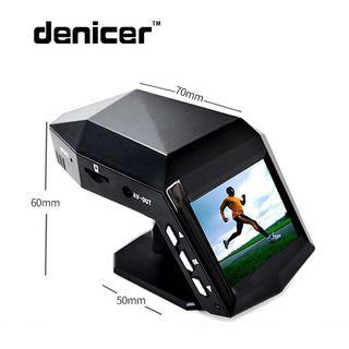 Denicer Car Dash Cam Full HD 1296P 170° Wide Angle Dashboard,M100S Camera Recorder Parking Monitor G-sensor Infrared Night Vision