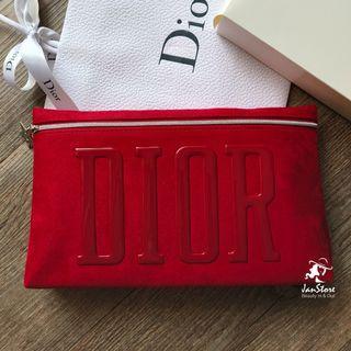 Dior Beauty Vip Gift XL Pouch Clutch