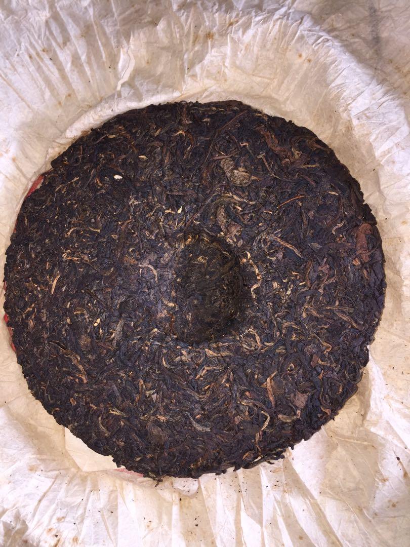 中茶牌圓茶/中茶黃印/生茶/380g