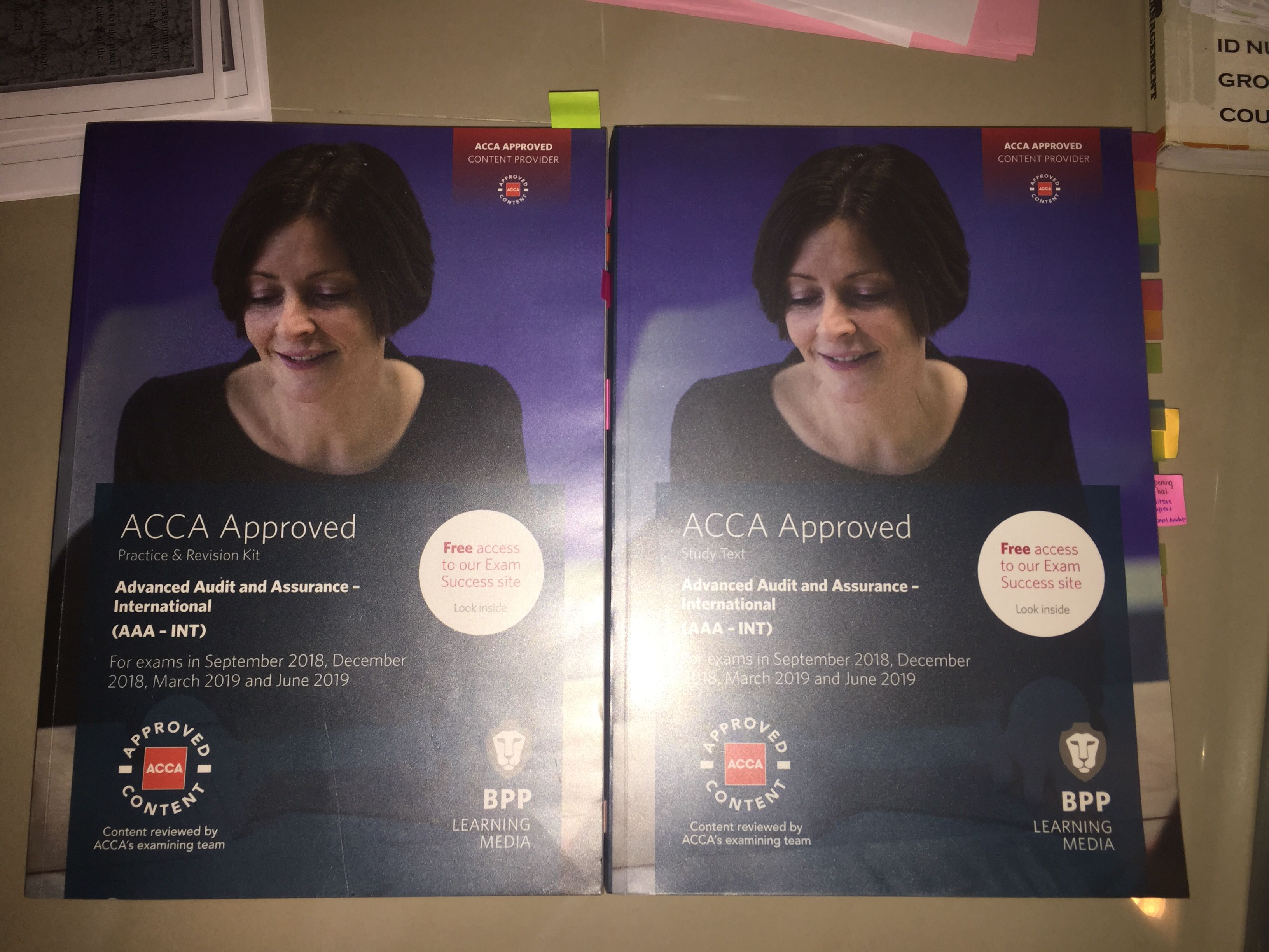 ACCA BPP AAA TEXTBOOK & REVISION KIT (Advanced Audit Assurance)