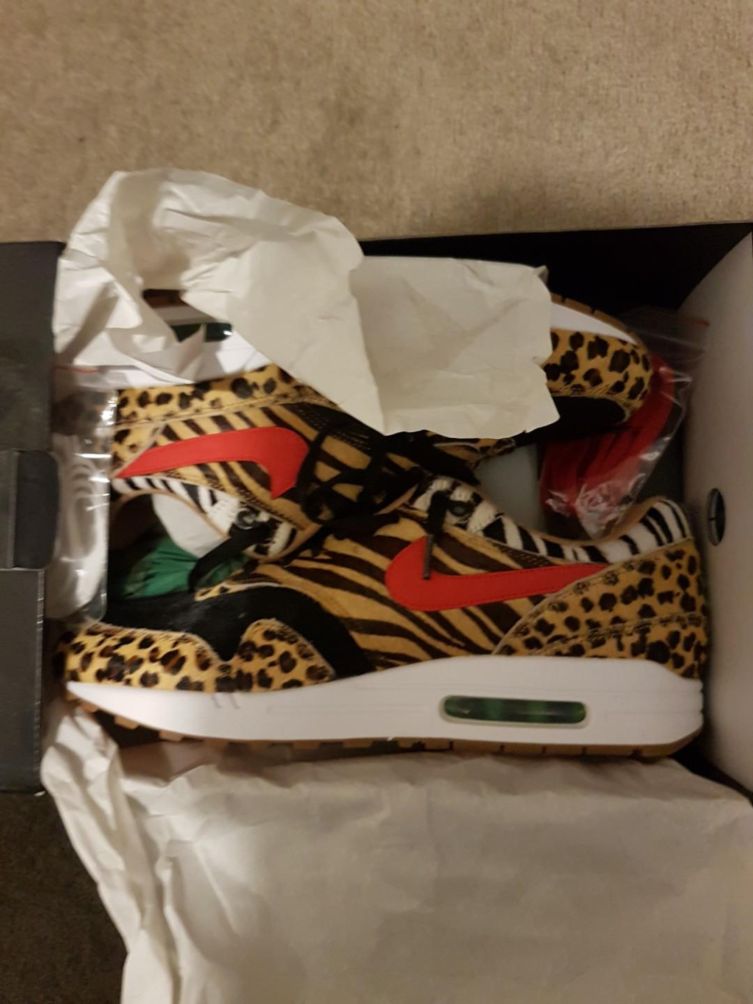"""Air Max 1 x Atmos """"Animal Pack"""" (with box and laces)"""
