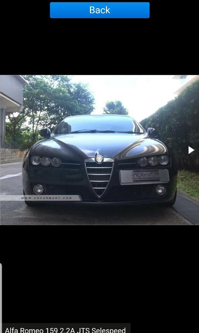 Alfa Romeo 159 for rent
