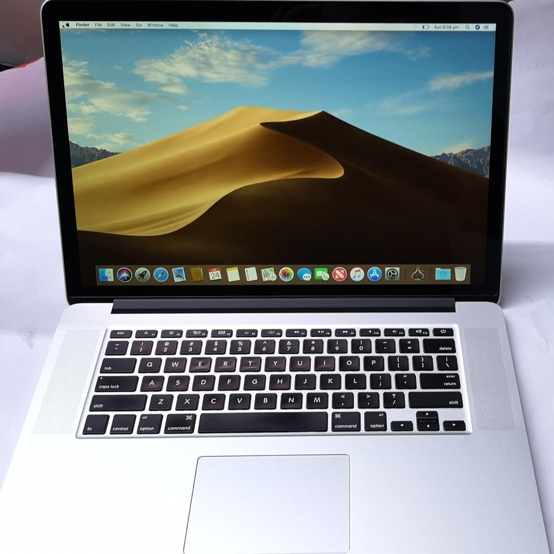Apple MacBook Pro Retina 15 inch i7 16GB RAM 500GB SSD