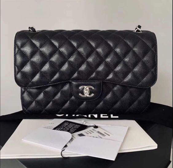 Authentic Chanel CF Jumbo