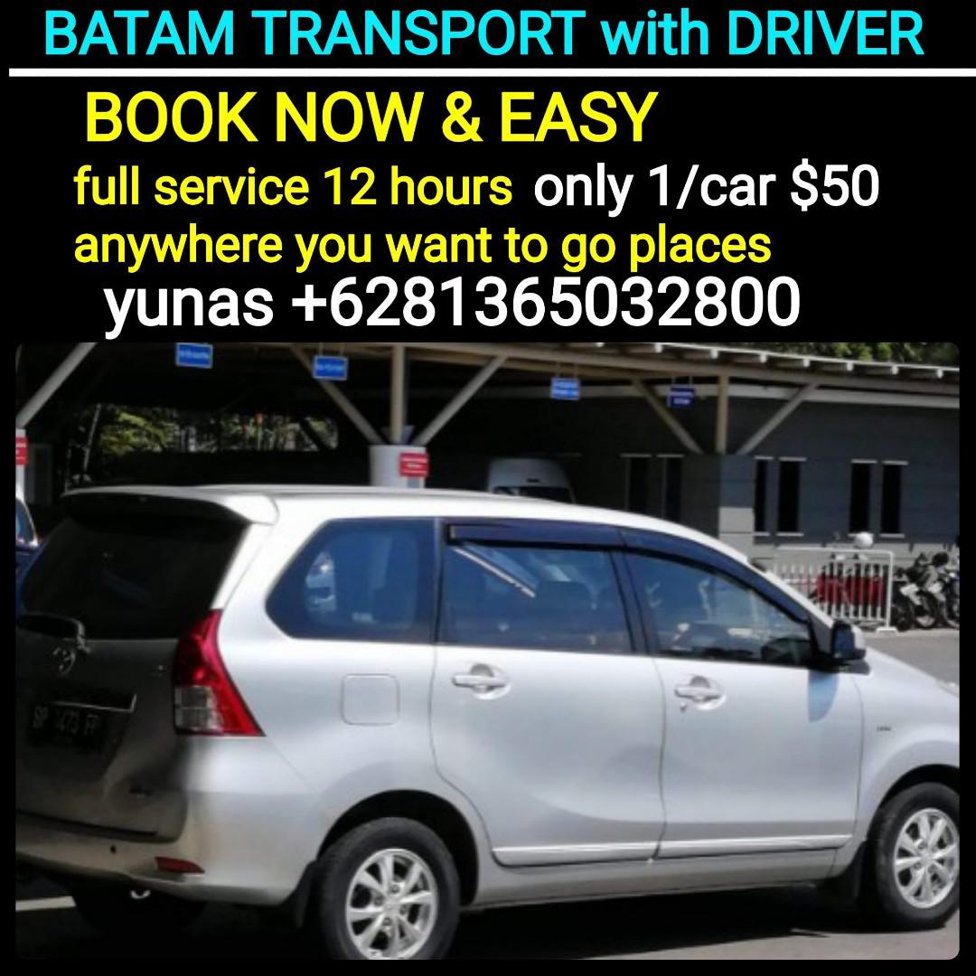 BATAM RENTAL with DRIVER (http://www.wasap.my/+6281365032800/Hallo,yunas
