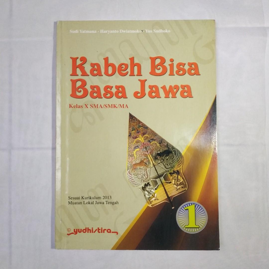 Bahasa Jawa Kelas X Revisi Sekolah