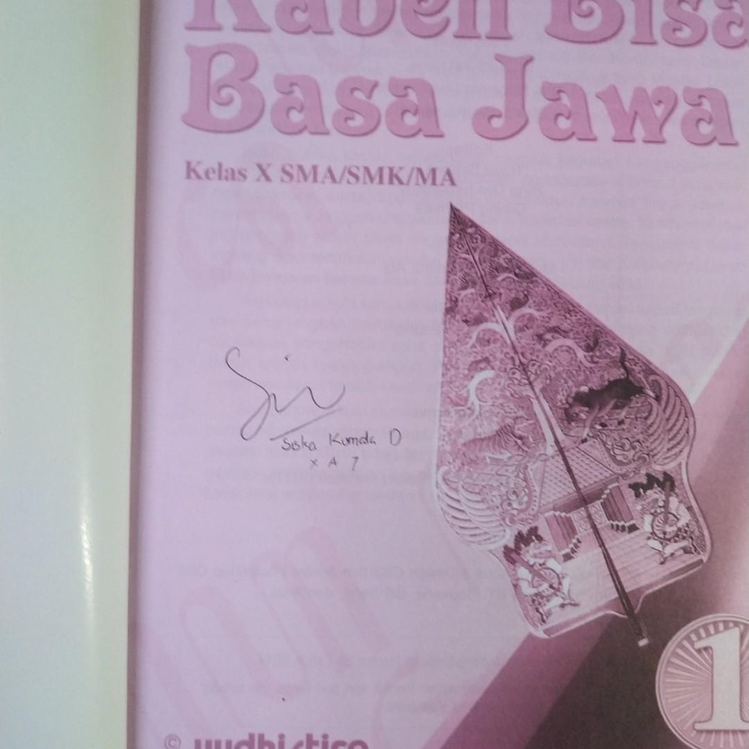 Buku Bahasa Jawa Kelas 10 Smk - Guru Ilmu Sosial