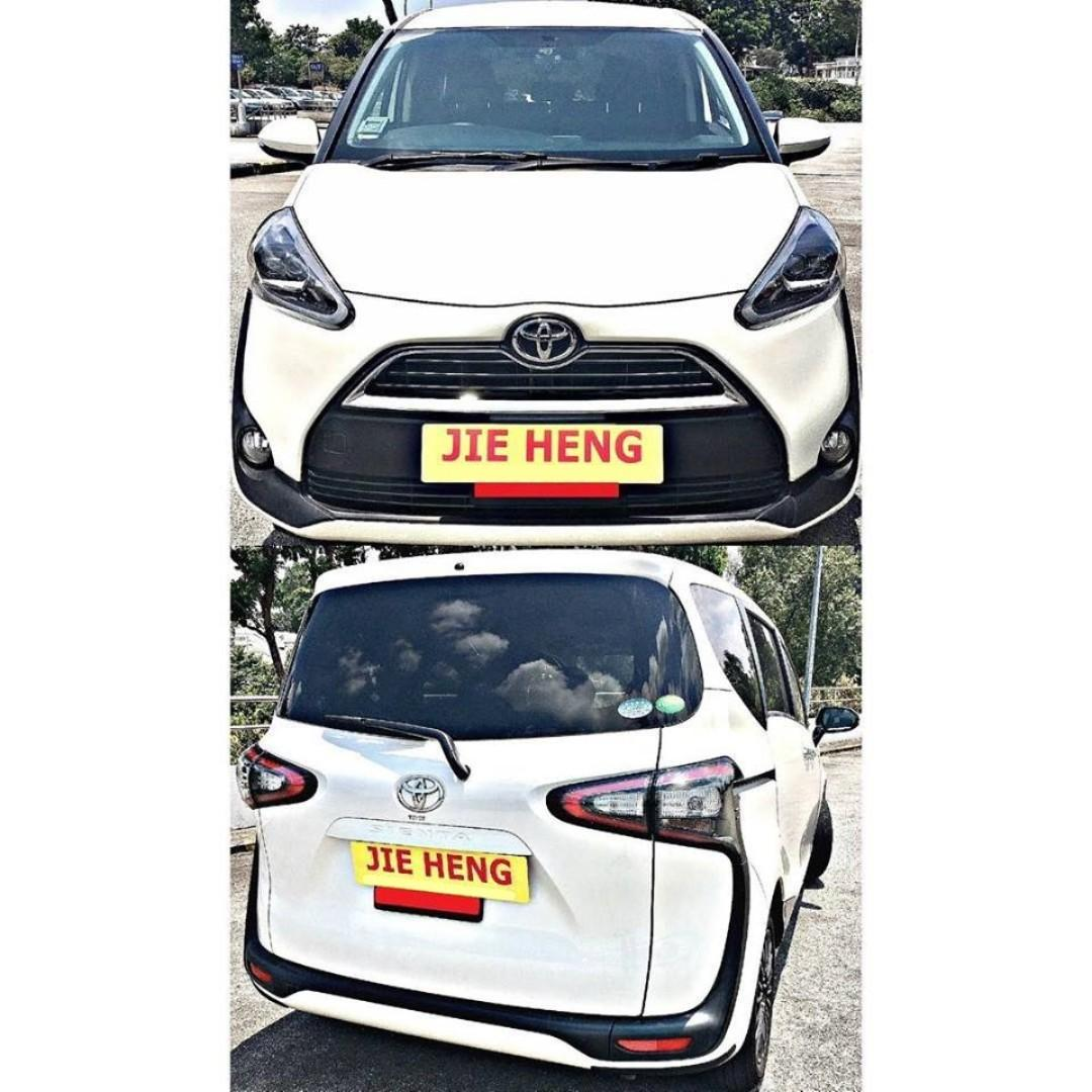 CHEAPEST $60 PER DAY MPV FOR PHV/LEASING [TOYOTA SIENTA 1.5G A]