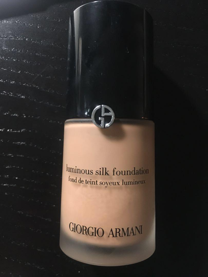 Giorgio Armani luminous silk foundation 6.5 RRP $99