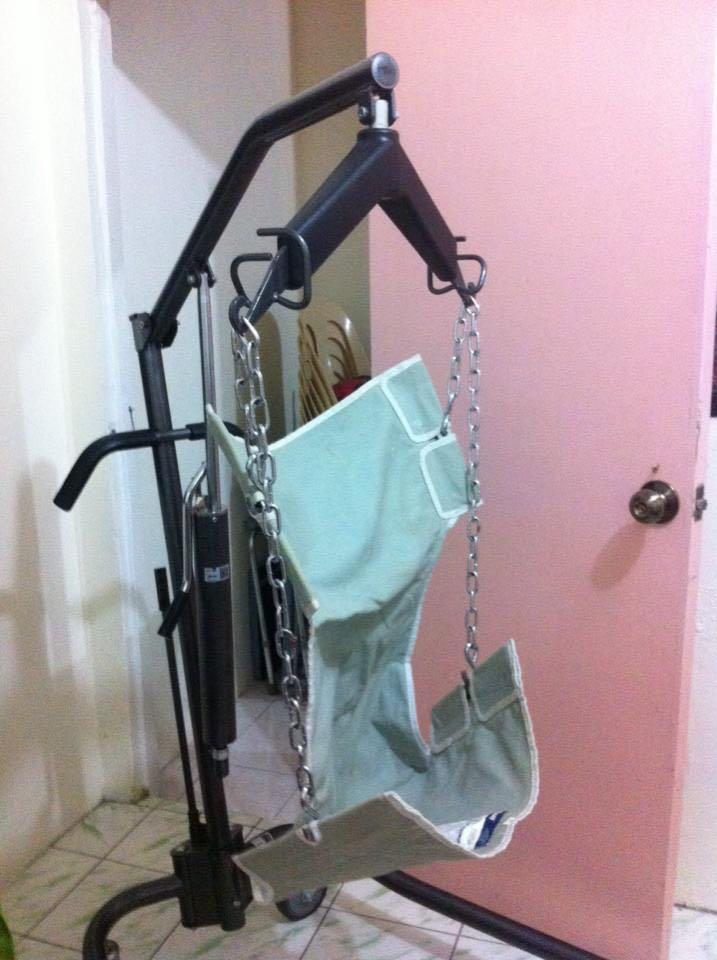 Hoist for bedridden patients