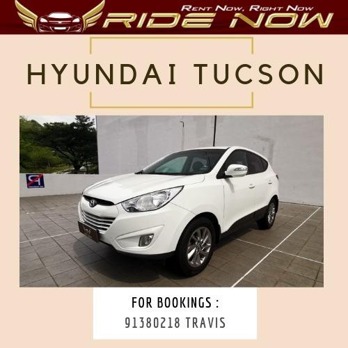 Hyundai Tucson 2.0A Pearly White SUV that will turn heads! Comfortable Drive! Pplate Friendly