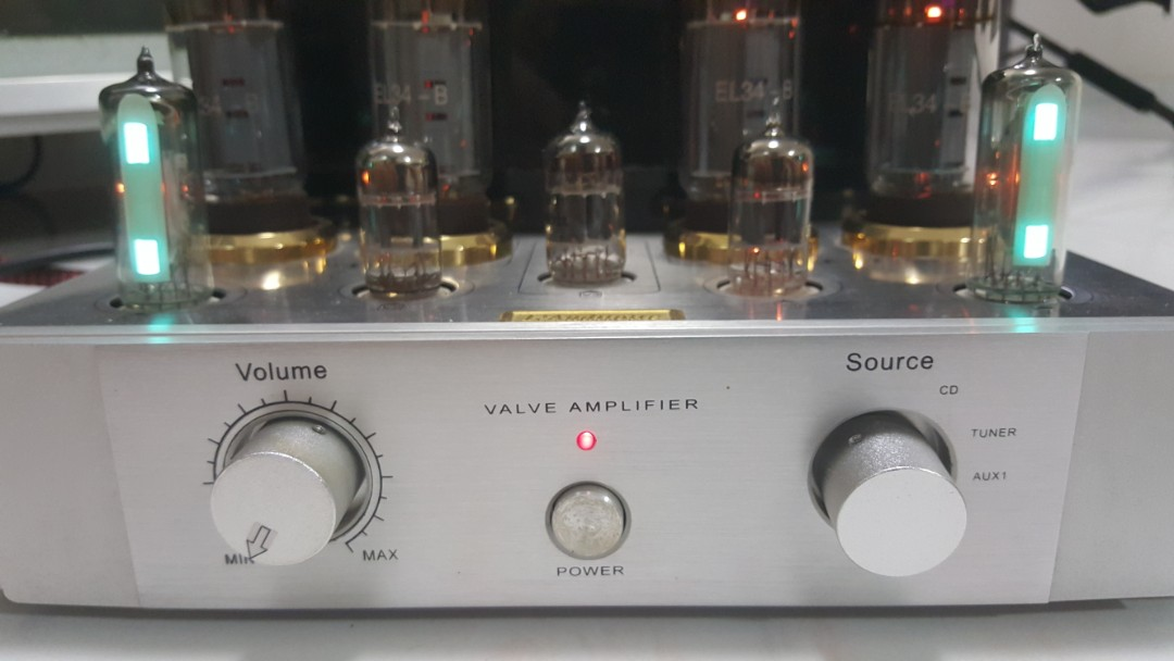 Integrated Tube Amp (pending for now)
