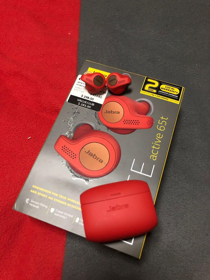 Jabra Elite Active 65t Copper Red Electronics Audio On Carousell