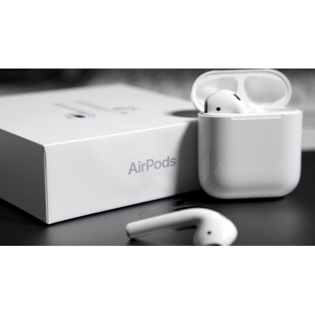 [Out of Stock] Authentic Original Apple AirPods 2nd Generation with Wireless Charging Case