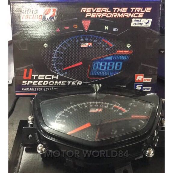 LC135 V1 SPARK UMA RACING DIGITAL METER (LATEST), Motorbikes