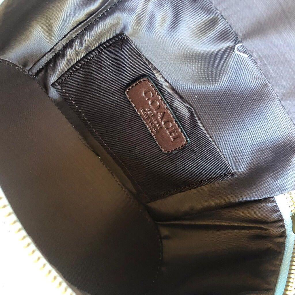 Premium Coach Trail Bag Blue / tas mini biru