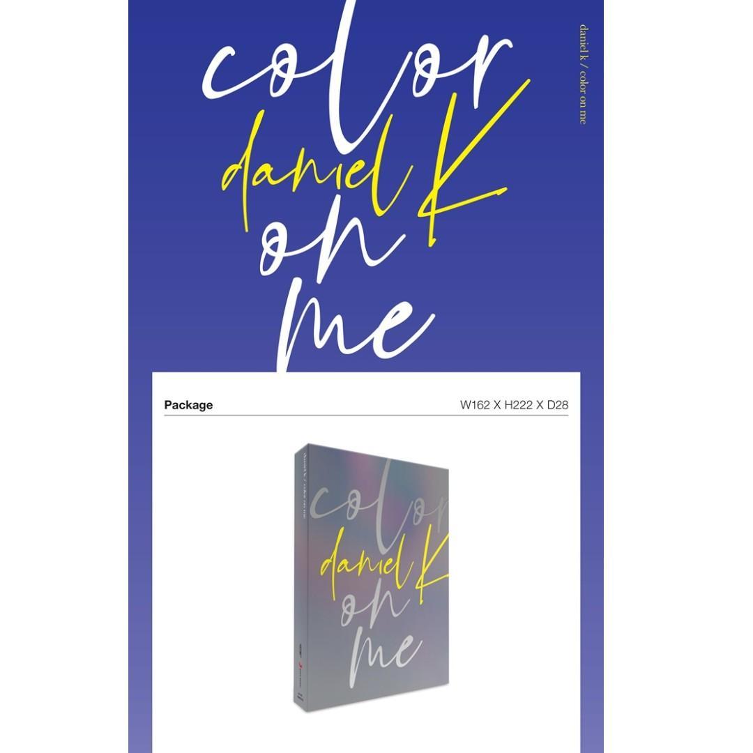 [PREORDER] 강다니엘 (KANG DANIEL) - color on me / 1ST MINI ALBUM