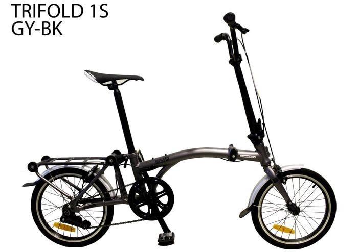 Sepeda Lipat 16 United Trifold 1S Boncengan (brompton) KS