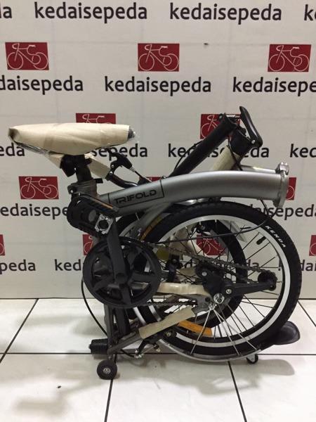 Sepeda Lipat 16 United Trifold 3S Boncengan (brompton) KS