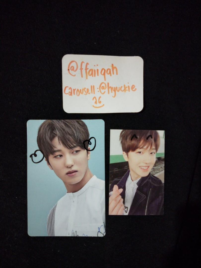 SF9 Chani Breaking Sensation Doodled Photocard Set (got it from fansign)