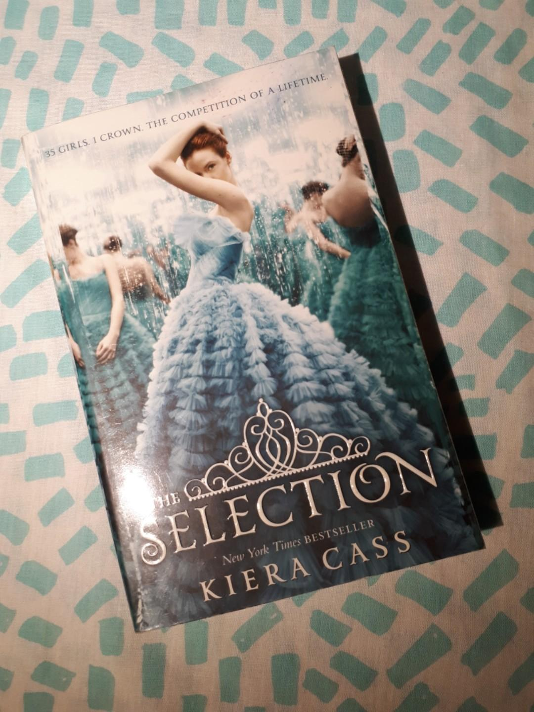 The Selection Series Books 1-3 on Carousell