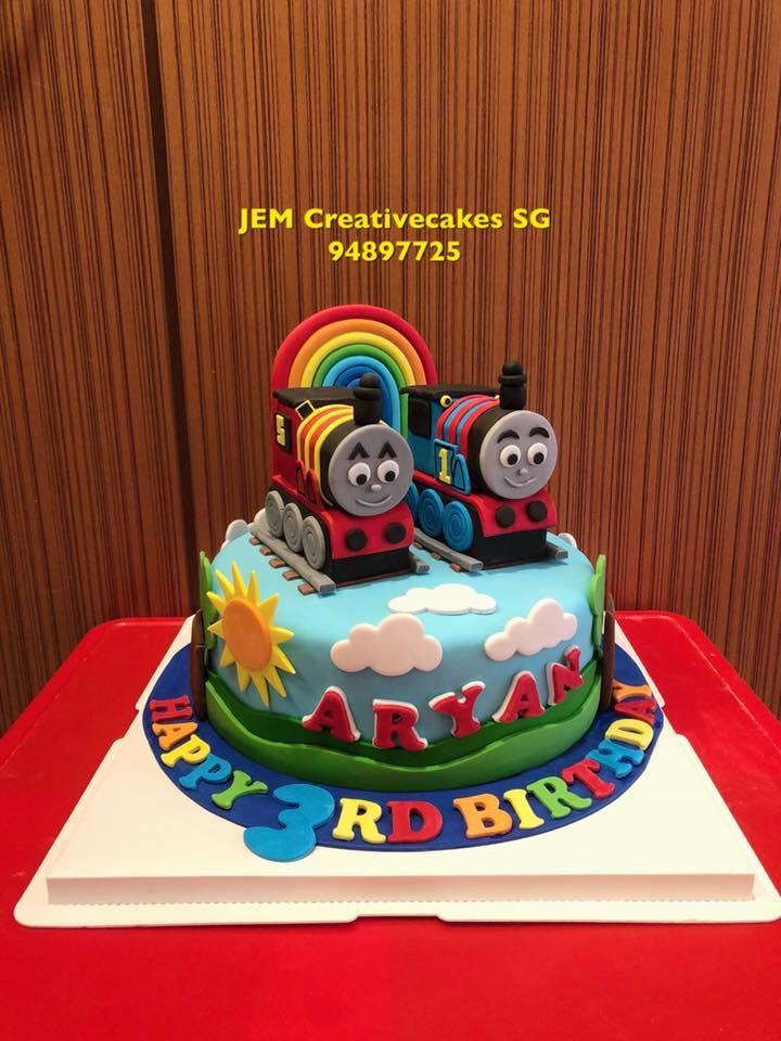 Miraculous Thomas Train Birthday Cake Food Drinks Baked Goods On Carousell Funny Birthday Cards Online Fluifree Goldxyz