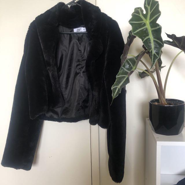 Tigermist fluffy jacket