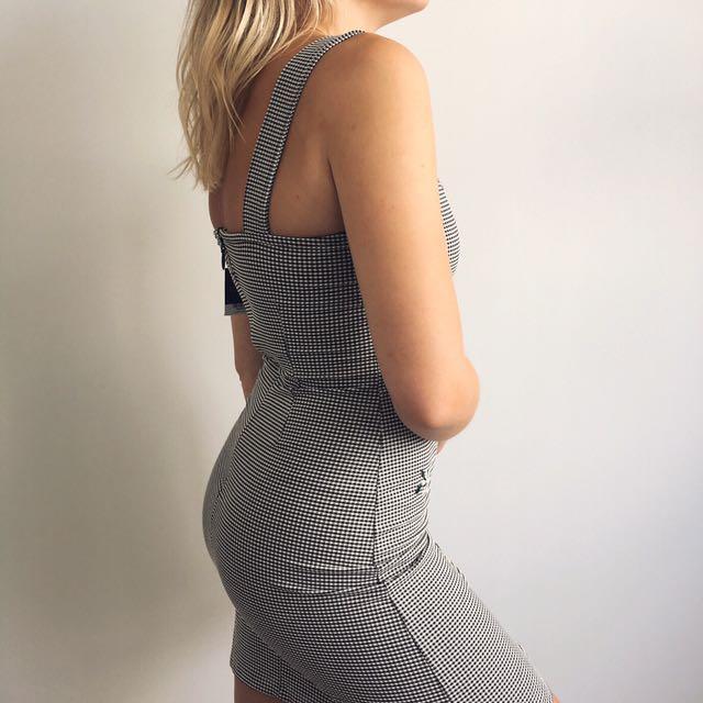 TopShop Gingham Dress