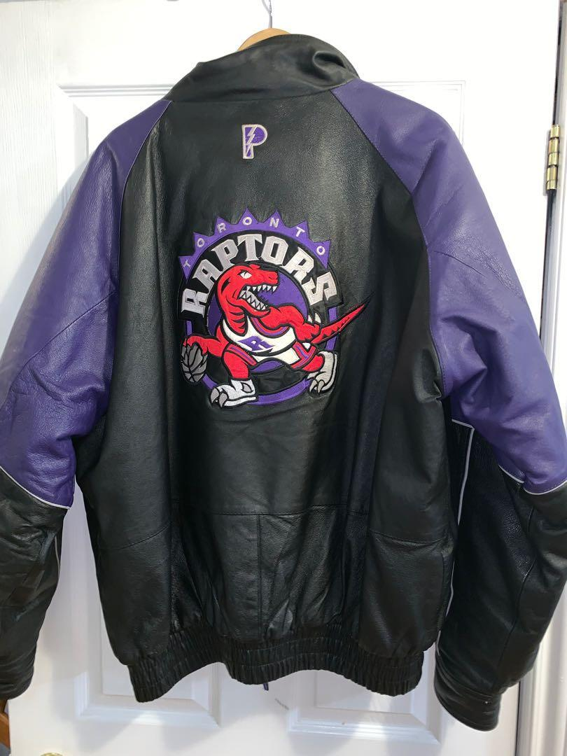 TORONTO RAPTORS LEATHER JACKET