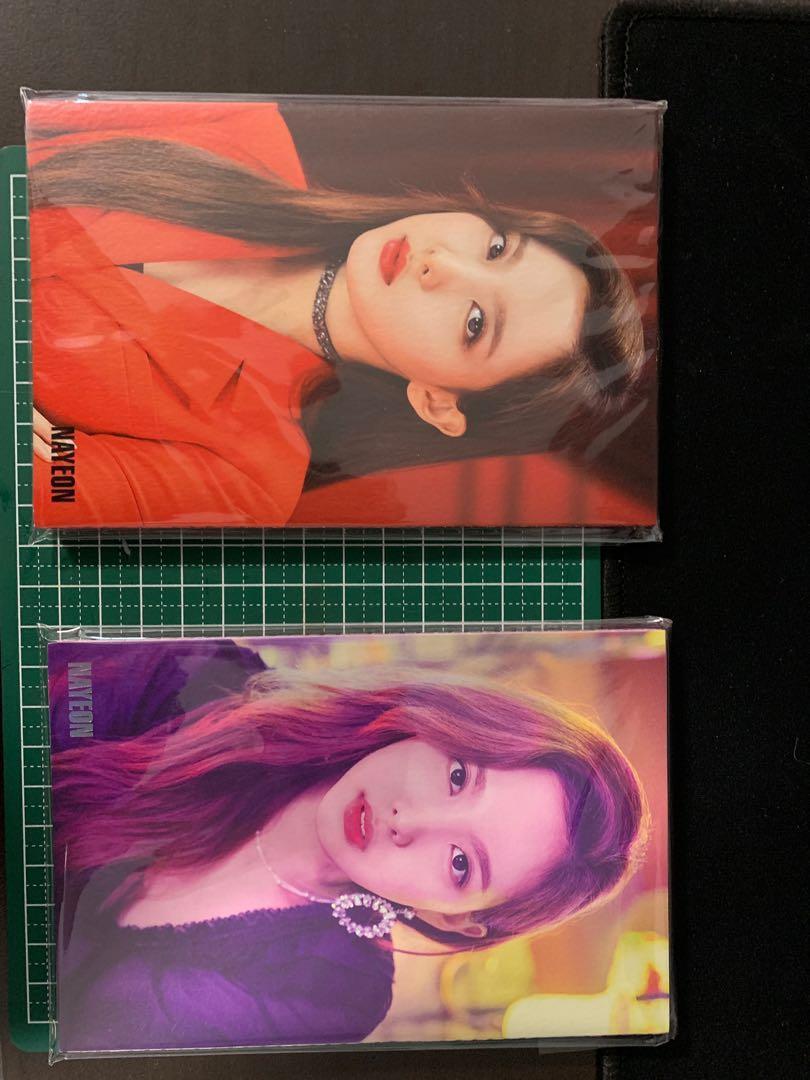 TWICE accordion postcard merchandise, K-Wave on Carousell