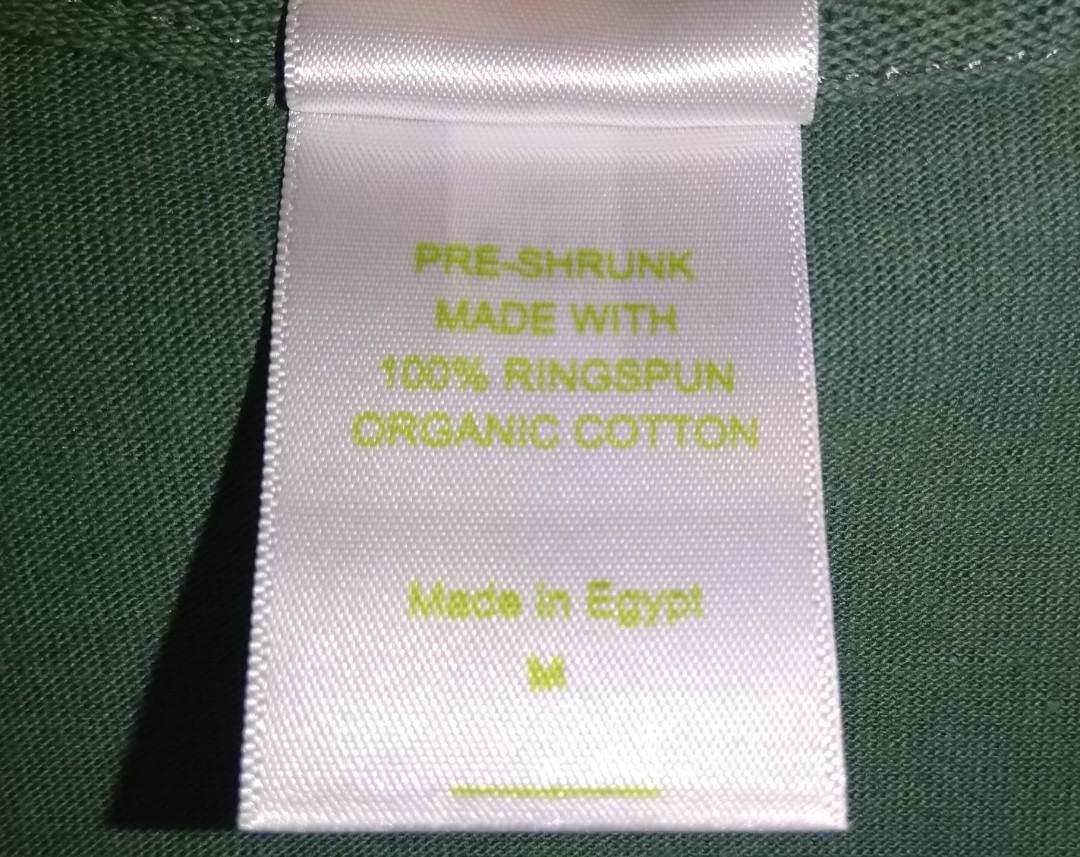 UltraClub Organic Green Women's T-Shirt 100% Cotton