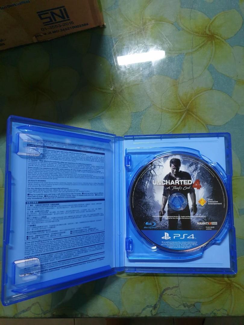 Uncharted 4 dan Horizon Kaset PS4