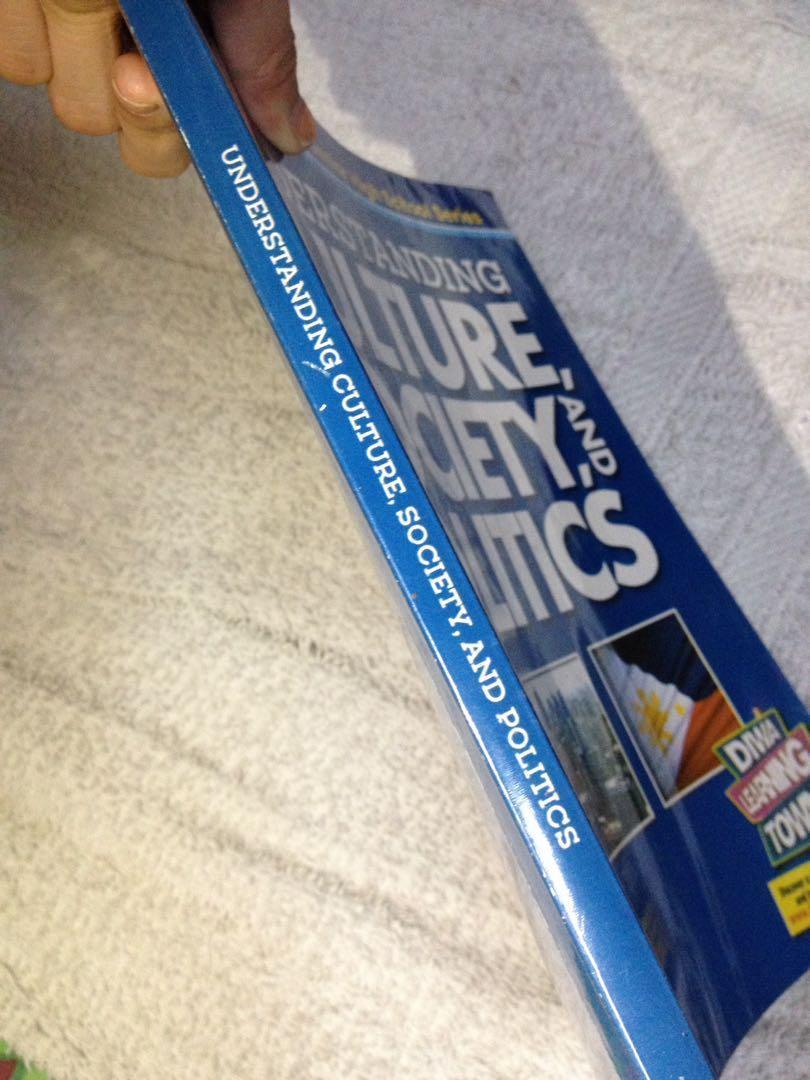 Understanding Culture, Societyc and Politics Senior High School Second Hand Book