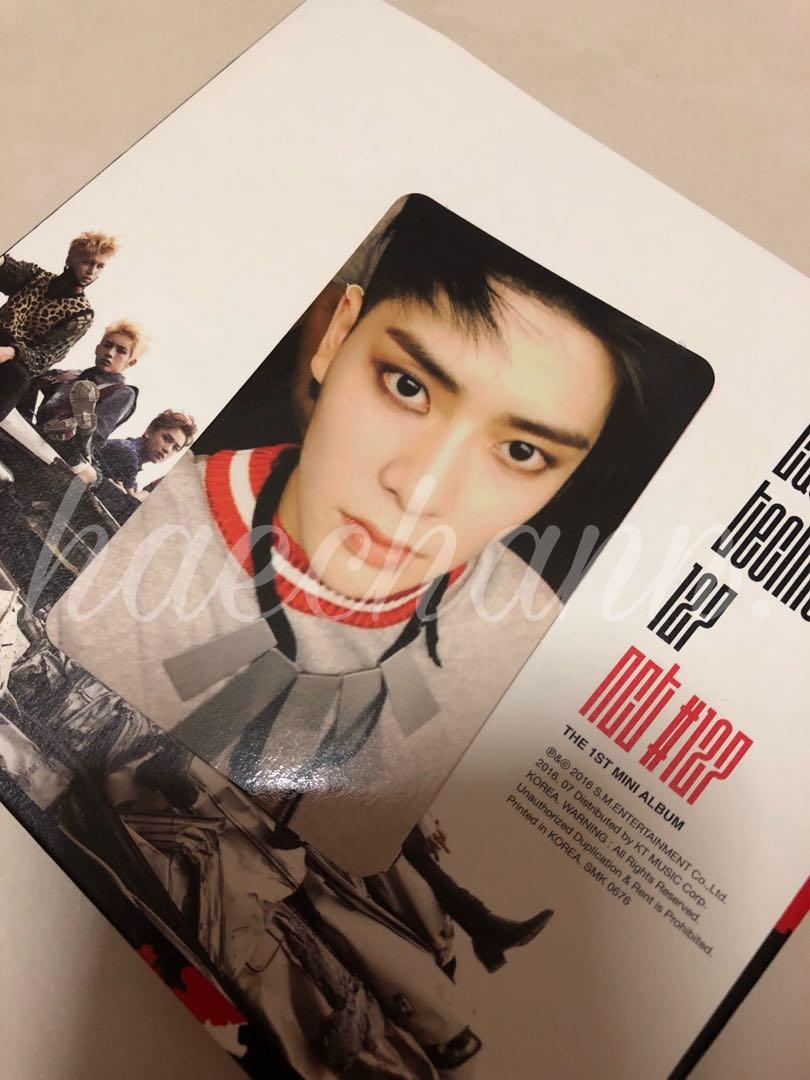 Wts Official Nct 127 Firetruck Jaehyun Photocard Entertainment K Wave On Carousell