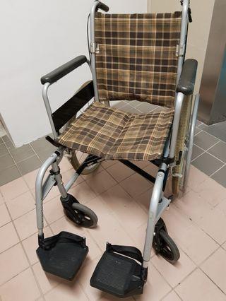 Braned lightweight, detachable wheelchair