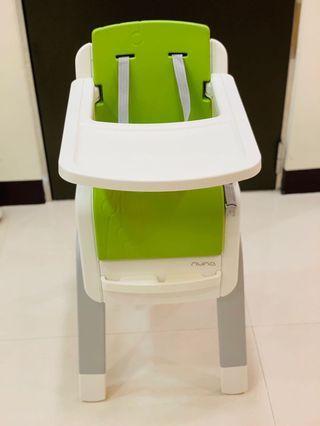 nuna ZAAZ 高腳餐椅 (翡翠綠)