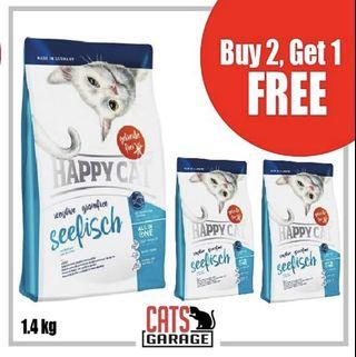 [GSS PROMO] - Happy Cat® Sensitive - SeeFisch (Seafish) & Poultry Grain free