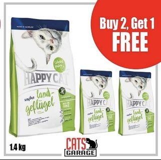 [GSS PROMO] - Happy Cat® Sensitive - Land-Geflügel Organic Poultry Gluten Free