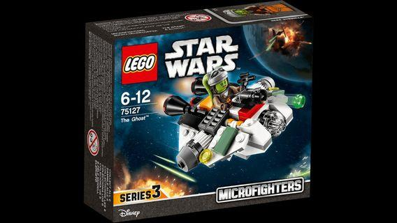 Lego Star Wars 75127 The Ghost Microfighters