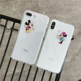 🚚 iphone8 i8 透明手機殼 米奇 米妮
