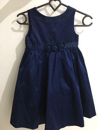 Dress pesta anak 3-4y