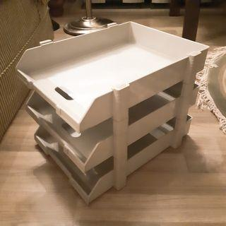 🚚 Solid 3 Tier Paper Tray