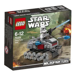 Lego Star Wars 75028 Clone Turbo Tank Microfighters