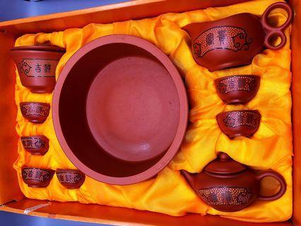 精雅茶藝 紫砂一套11件 罕有珍品