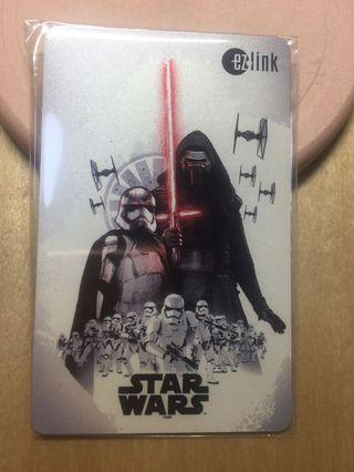 Limited Edition Star Wars ez link card : very rare!