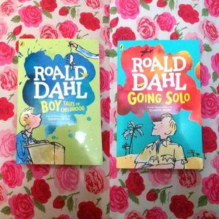Roald Dahl's Autobiographical book set