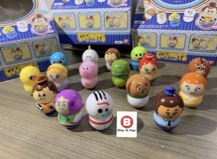 🚚 🔥現貨 日本限定 玩具總動員4 coonuts bandai 萬代玩具總動員4 轉轉花生 toy巴斯光年 胡迪 三眼怪