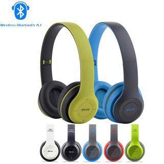 Microphone Stereo Headset Bluetooth 4.1 EDR Earphone Wireless Headphone